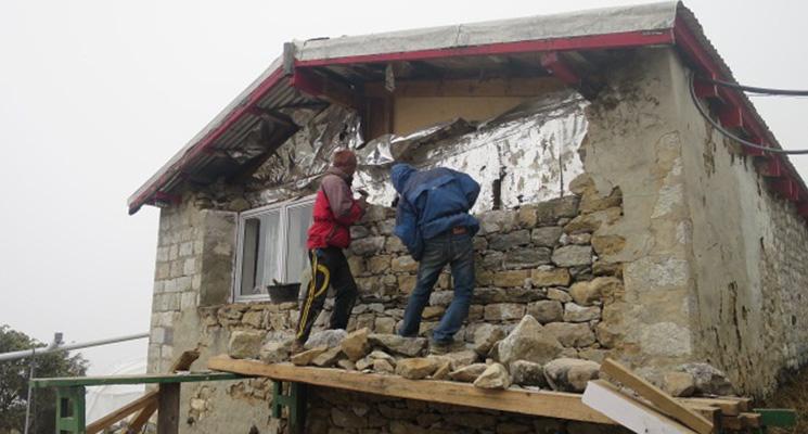 Village home being rebuilt before winter