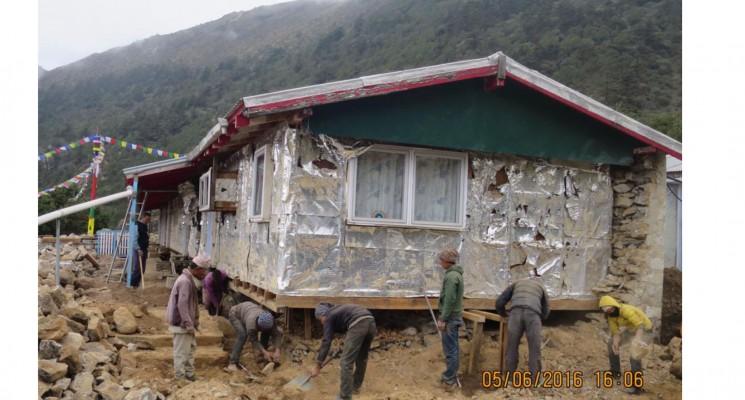 Update on Kunde Hospital Rebuild