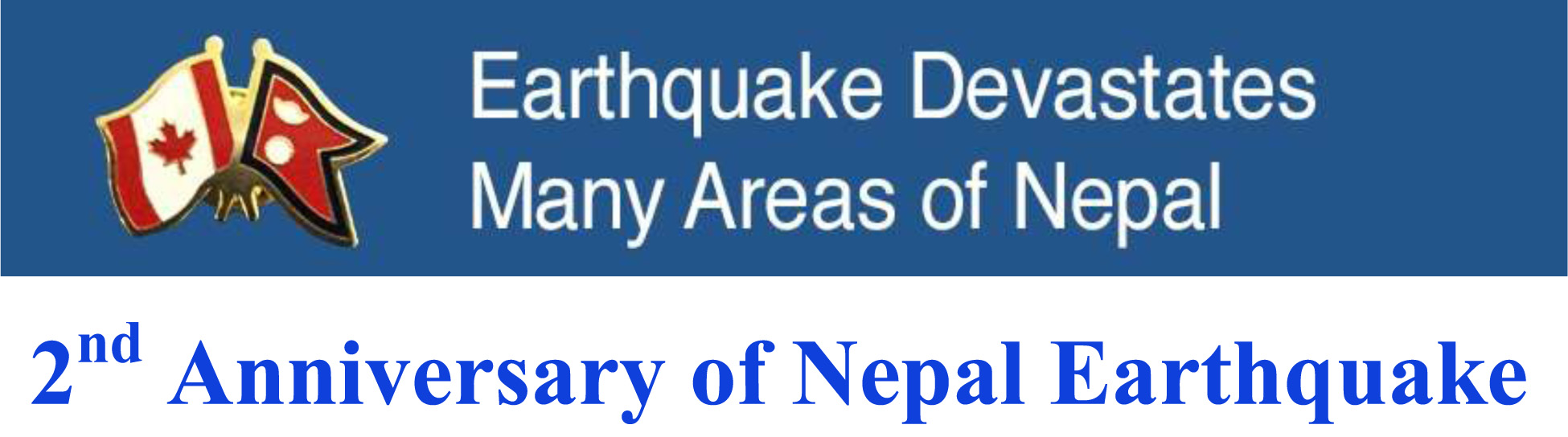 2nd Anniversary of Nepal Earthquake