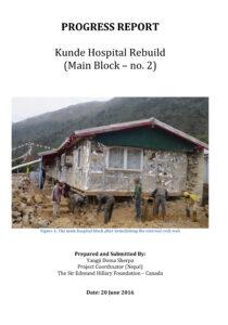 Microsoft Word - Update on Kunde Hospital Rebuild.docx