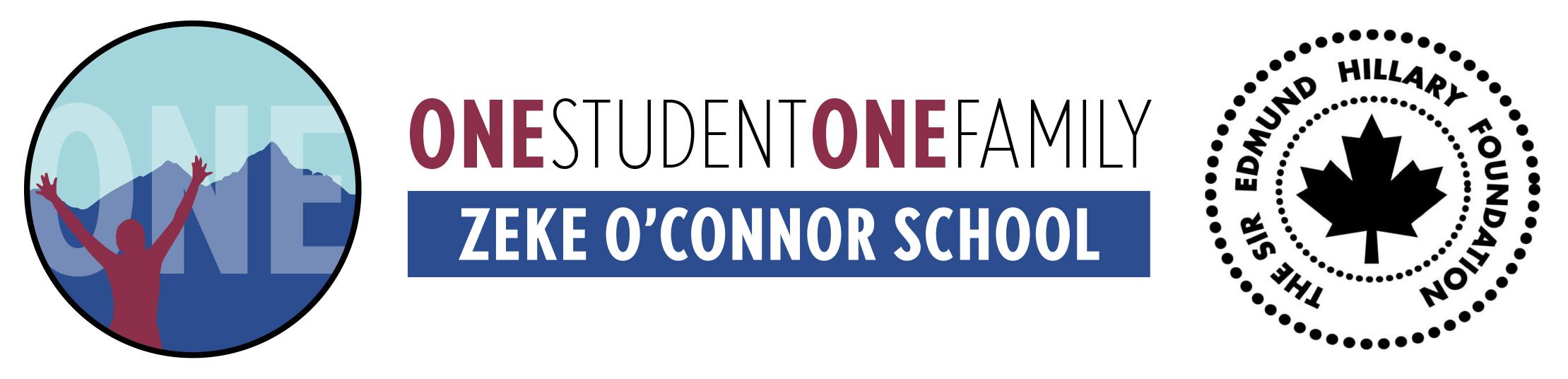 ZEKE O'CONNOR SCHOOL Banner